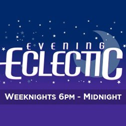 KFSR Evening Eclectic graphic